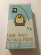 Cricut Tags, Bags, Boxes & More Shape Cartridge Unlinked Untested Gift Provo