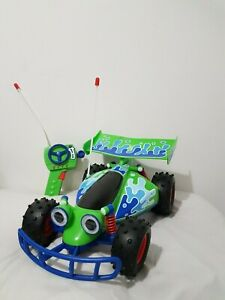 """Toy Story Signature Collection RC Remote Control Car Thinkway 14"""" Vehicle WORKS!"""
