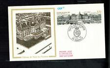 Fdc-1535*France 1989* Chateau De Vaux Fdc * Cef Cachet