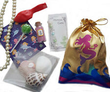Mermaid loot/party bag with 7 items inside, great value