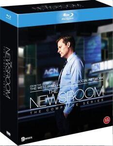 The Newsroom Complete Series Box Blu Ray