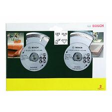 Bosch Diamanttrennscheiben für Fliesen und Baumat. 115mm