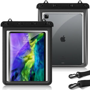 """For iPad Pro 11"""" 2020 / 2018 IPX8 Certified Waterproof iPad Dry Bag Pouch, Black"""