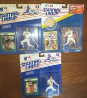 LOT JOSE CANSECO, MARK McGwire A's KENNER STARTING LINEUP BASEBALL FIGURE & COIN