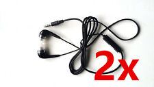 2x Stereo Headsets for Nokia Lumia 550,950,640,930,925,920,900,830,820,810,800