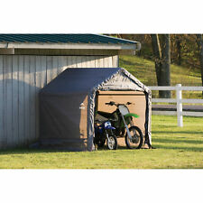 Outdoor Metal Canopy Portable Bike Garage Storage Shed Cover Tools Shelter