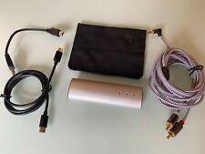 Meridian Explorer V2 USB DAC Headphone amp,MQA TIDAL Master quality Extra cables