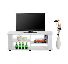 Homcom – Mobile Porta-tv in Pannelli di Particelle 122 x 38.1 x 46.7cm Bianco