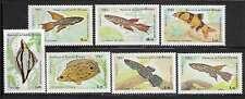 Guinea Bissau 498-504 Fish Mint NH