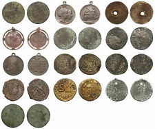 World - Interesting lot with 13 old coins