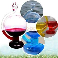 New Glass Weather Forecast Predictor Bottle Barometer Home Crafts Reliable SS US