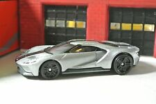 Hot Wheels '17 Ford GT - Silver - Loose - 1:64 - Nightburnerz