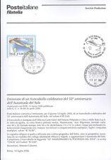 ITALIE 2006 AUTOROUTE DEL SOLEIL BULLETIN COMPLET DE TIMBRES FDC