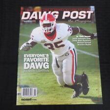 94976182a90 UGA Georgia Bulldogs Dawg Post Magazine Feb 2009 Rennie Curran