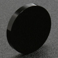 48mm Black Obsidian Scrying Mirror Crystal Gemstone Rock Stone Home Decor