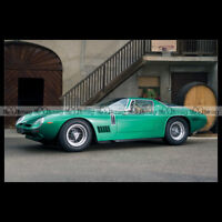 #pha.001914 Photo BIZZARRINI 5300 GT STRADA 1968 Car Auto