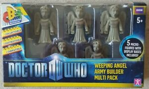 Doctor Dr Who Weeping Angel Army Builder Multi Pack