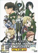 SHIROGANE NO ISHI ARGEVOLLEN Complete Anime TV Series Ep.1 - 26 End DVD Box Set