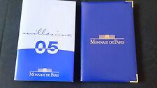 Rare France 2005 Monnaie de Paris Proof ANA Set Silver 5 Euro Original Case COA