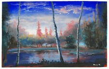 Mariya Martirosyan Acrylic Landscape Canvas Painting with COA List $5000