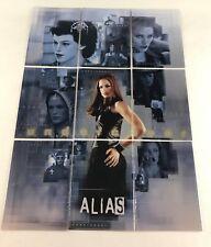 "ALIAS SEASON 2 (Inkworks/2003) COMPLETE ""UNDERCOVER"" Foil Chase Card Set U1-U9"