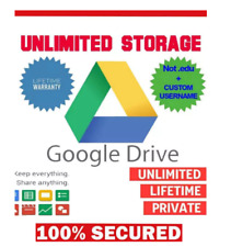 Google Drive (workspace) Almacenamiento En La Nube Ilimitado