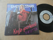"DISQUE 45T DE EMILY STARR  "" KEY TO YOUR HEART """