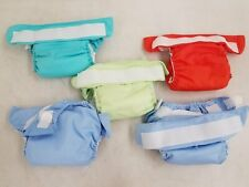 Lot of 5 BumGenius Cloth Diapers