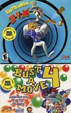 Bust A Move/ Earthworm Jim (2 Pack Windows CD rom)