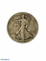 1944 D Liberty Walking Half Dollar VG Very Good 90% Silver 50c US Coin