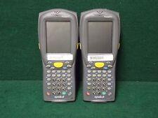 Symbol Pocket Pc Pdt8100 Handheld Barcode Scanner / Pdt8100-J5Ba3000 (Lot of 2)%