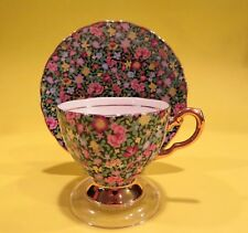 Tuscan Mille Fleurs Chintz  Bone China Made In England Tea Cup & Saucer