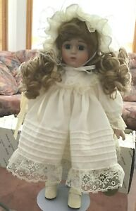 """Vintage Hillview Lane limited edition collection doll 15.5"""""""