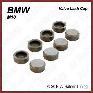 BMW 2002, 320i, 318i M10 cyl head Valve Stem Lash Caps