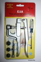 KAM Snap Pliers  - For Plastic Snap / Pop Fasteners