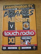11/07/2009 Leamington All Stars v Touch Radio [Friendly] (No apparent faults).
