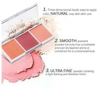 Blush Palette Makeup Face Blusher Powder 3 Colors Professional Cheek Make Up