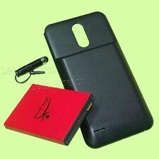 High-Capacity 8000mAh Extended Battery Black Cover Pen for LG Stylo 3 Plus TP450