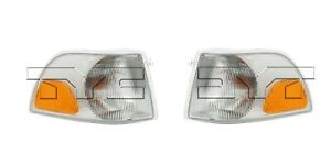 For 1998-2000 Volvo C70/S70/V70 Front Parking Signal Light PAIR Left & Right