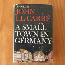 1968 John Le Carre A SMALL TOWN IN GERMANY 1st American Edition HB HC DJ