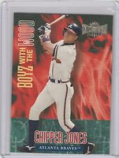 1999 Skybox Metal Universe - Boyz with the Wood #10 BW Chipper Jones