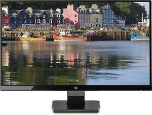 HP 27w Monitor, Schermo 27 Pollici IPS Full HD, Risoluzione 1920 x 1080, Micro-E