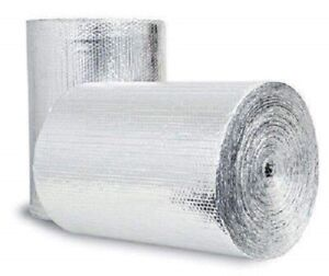 500sqft (4ft Wide) Double Bubble Pole Barn Insulation (1/4 thick R8) Meets Code