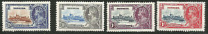 1935 King George V Silver Jubilee Bermuda Mint Stamps 2 1/2d Bird by Turret?