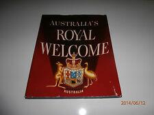 Australia's Royal Welcome (Hardcover) Commemorative Edition 1954 Royal Tour
