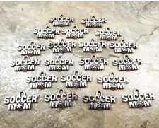 """20 Pewter """"SOCCER MOM""""  Charms- 5460"""