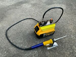 DeWalt 18v portable soldering station/iron, T12 console, OLED screen