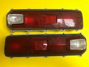 Toyota Corona RT62 RT63  Mark 2 II 1971-1972 Tail Lights Lamps Set Genuine NOS