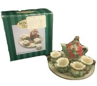 1995  Christmas Tea Christmas Tree  - Mini Tea Set A Collectible Tradition