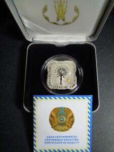 2012 Kazakhstan 500 tenge Petroglyfs of Tamgaly Gilding Gold stamping 24 g